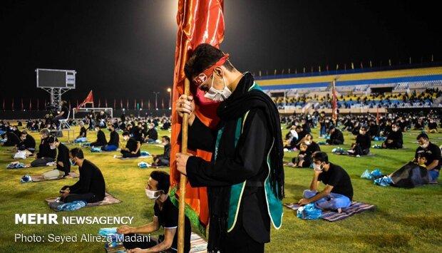 """مراسم عاشوراء في استاد شهداء """"اسلامشهر"""" في ايران / صور"""
