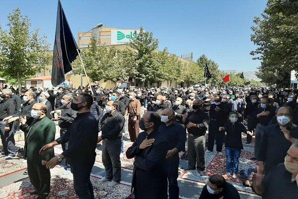 تهران سیاه پوش شد/برگزاری آئینهای عاشورایی بارعایت بهداشت