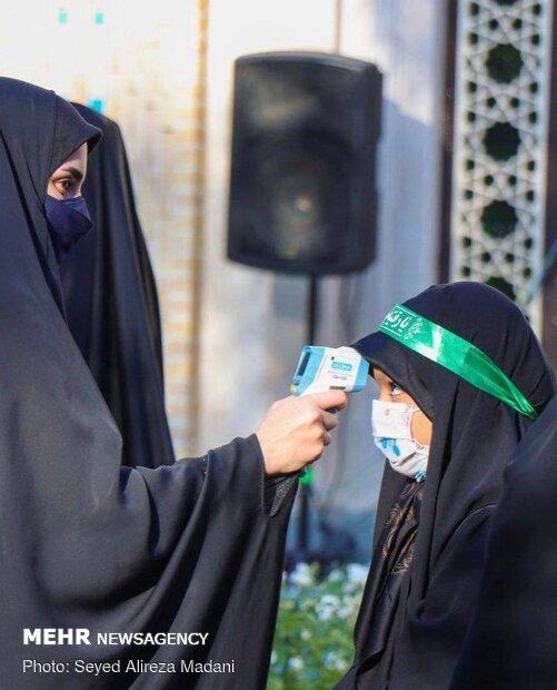 عزاداری شهادت اباعبدالله الحسین(ع) در هیئت نور الرضا