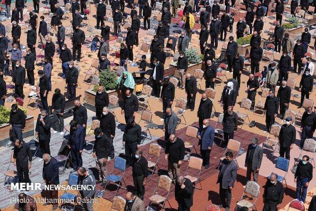 نماز ظهر عاشورا در میدان شهدای ذهاب رشت اقامه می شود