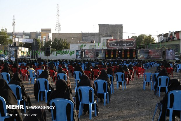 Ashura mourning ceremony marked in Khomein