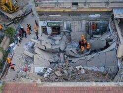 چين میں دو منزلہ عمارت منہدم ہونے سے 29 افراد ہلاک