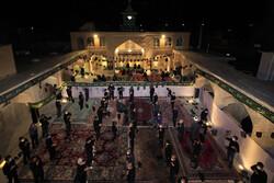 مراسم عزاداری شام غریبان در مسجد تاریخی چالش تر