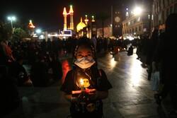 قم میں کربلا کے خاک نشینوں کی یاد میں شام غریباں منعقد