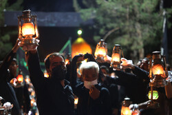 "Mourning ceremony of ""the Companions of Sorrow"" in Isfahan"