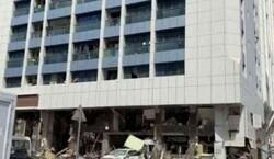 إصابات بانفجار في مطعم بأبو ظبي بالتزامن مع زیارة وفد الکیان المحتل الی الامارات