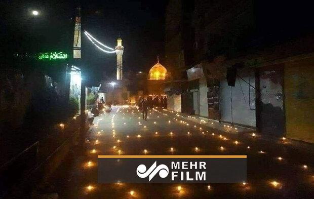 شام میں حضرت زینب (س) کے حرم مطہر میں شام غریباں
