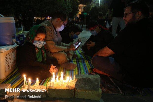 شام غریبان حسینی در قم