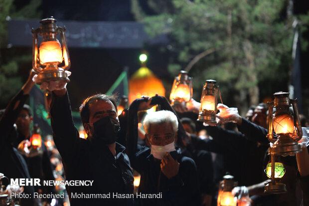 مراسم عزاداری سنتی «یاران عزا » در هرند