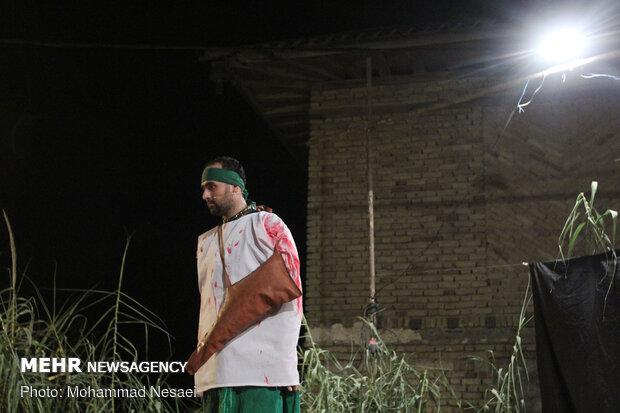 Gürgan'da taziye merasiminden fotoğraflar