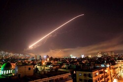 Syria's Army air defense counters Israeli aggression
