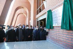 افتتاح ۱۰ پروژه عمرانی دانشگاه محقق اردبیلی توسط وزیر علوم