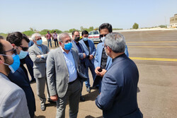 بازدید دبیرشواری عالی مناطق آزاد از طرح های عمرانی و زیربنایی کیش