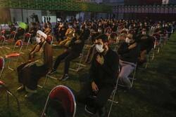 Tahran'da İmam Seccad (a.s) için matem merasimi