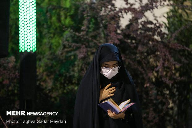 Tahran'daki matem merasiminden kareler
