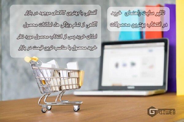 تاثیر سایت راهنمای خرید در انتخاب بهترین محصولات بازار