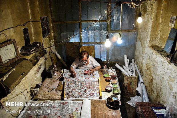 Carpet map design in Arak