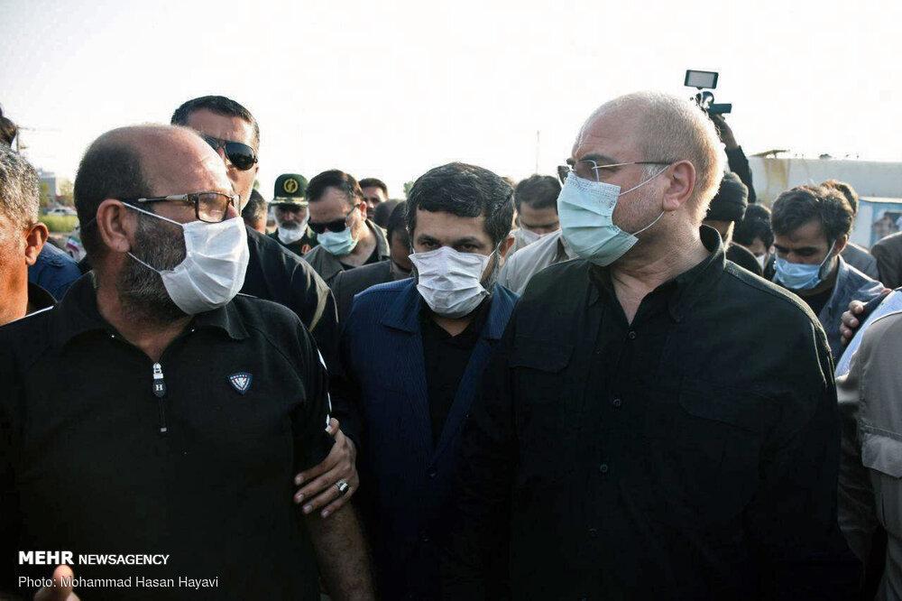 قالیباف مطالبات و مشکلات صیادان بندر خرمشهر را بررسی کرد