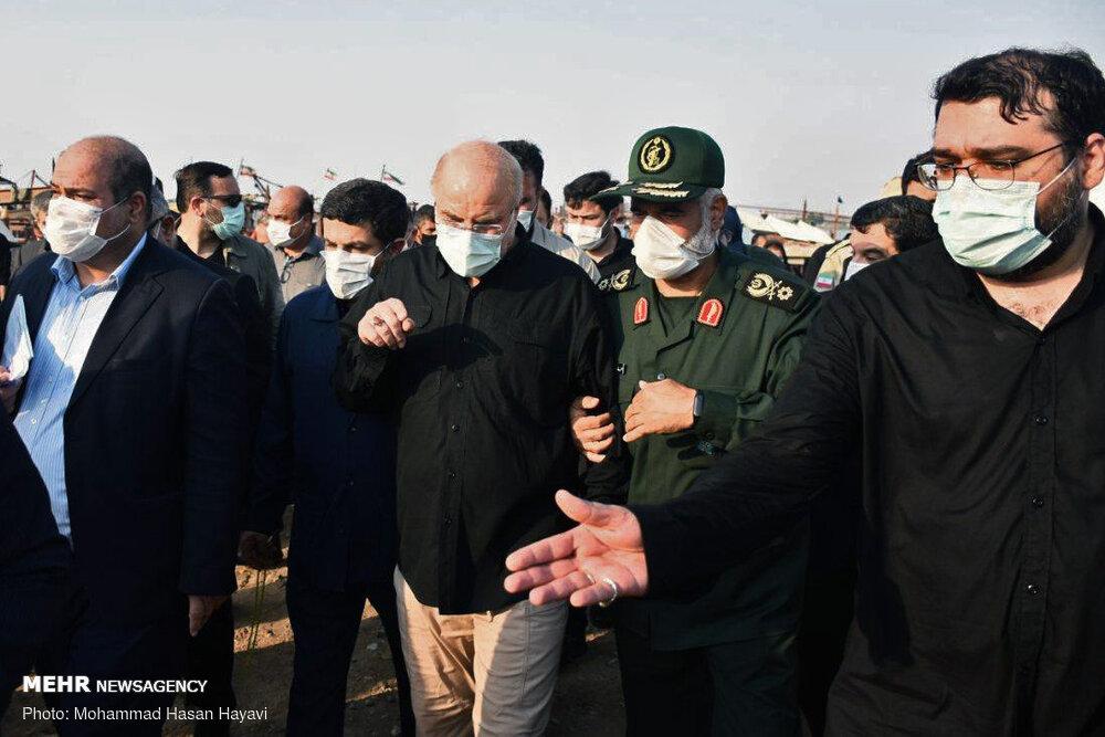 نامه تقدیر نمایندگان خوزستان از قالیباف