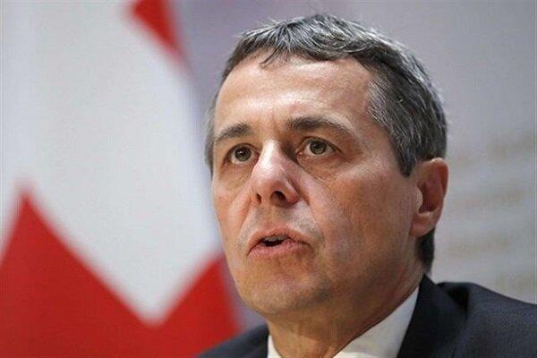وزیر خارجه سوئیس درباره نتایج سفرش به ایران به اظهارنظر پرداخت
