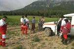 تیم های امداد و نجات هلال احمر به فارغان اعزام شدند