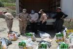 ۳۵۰ بسته معیشتی بین مرزنشینان کم برخوردار آذربایجان غربی توزیع شد