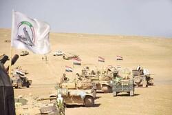 قوة امنية مشتركة من الجيش والحشد الشعبي تلاحق بقايا الارهابيين في العراق