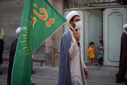 اجتماع طلاب و روحانیون شیراز به مناسبت ۱۳ محرم