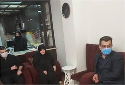 مدیرکل ارشاد گیلان با خانواده مرحوم «هادی موافق سدهی» دیدار کرد