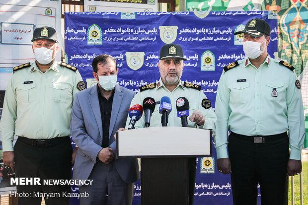 سردار رحیمی فرمانده نیروی انتظامی پایتخت