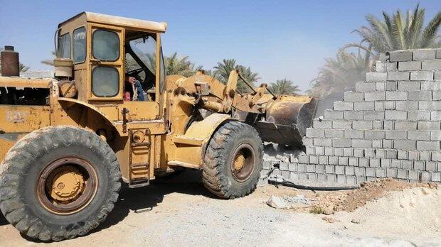 ۶۸مورد عملیات ساخت و ساز غیرمجاز اراضی کشاورزی میاندوآب متوقف شد