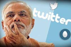 ہندوستان کے وزیراعظم کا ٹوئٹر اکاؤنٹ ہیک