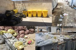 هشت بیمارستان در قزوین اخطاریه محیط زیستی دریافت کردند