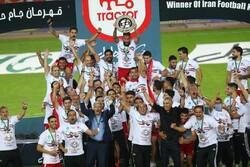 Tebriz kentinin takımı Traktör İran kupasını kazandı