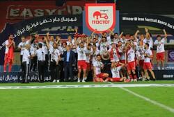 جشن قهرمانی تیم فوتبال تراکتور