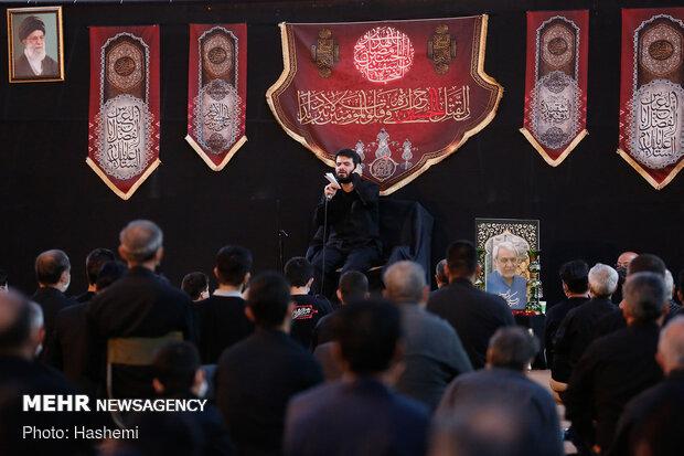 مراسم یادبود مرحوم عبدالعلی رحیمی در مقبره الشهدای شهرک شهید محلاتی