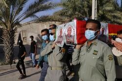بندر لنگہ میں فارسٹرشہید ہرمزگانی کی تشییع جنازہ