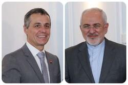 FM Zarif to host Swiss counterpart in Tehran on Monday