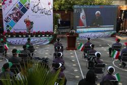 صدر روحانی نے ویڈیو لنک کے ذریعہ نئے درسی سال کا آغاز کیا