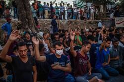 نگرانیها از شیوع کرونا در بزرگترین اردوگاه پناهجویان یونان
