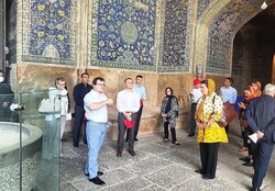 Swiss FM describes Isfahan as pearl in West Asia