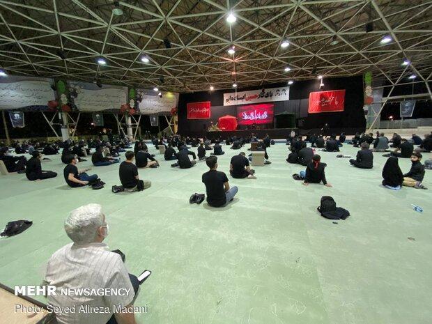 Tahran Müsella'sındaki matem merasiminden fotoğraflar