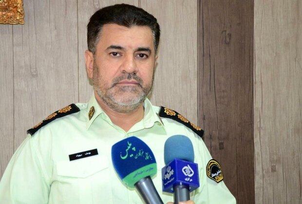 دستگیری ۱۰۲ سارق و قاچاقچی موادمخدر و کالا در استان مرکزی