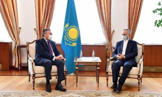 Iran, Kazakhstan emphasize on continuing bilateral coop.