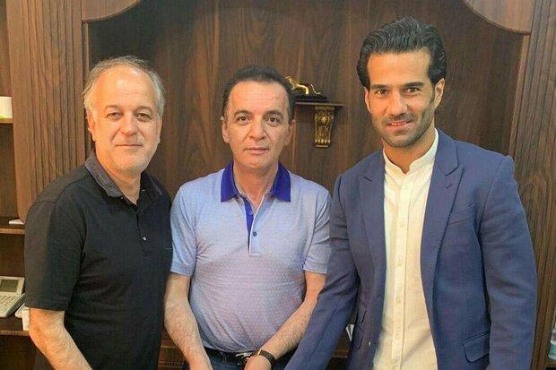 جشن سه نفره قهرمانی تراکتور با حضور مسعود شجاعی