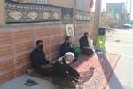 کاشیها به یاد شهدا هر کوی و برزن خود را یک حسینیه کردند