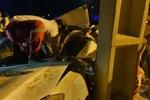 یک کشته و ۲ زخمی در پی برخورد خودروی تیبا با تیرک چراغ برق