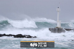 VIDEO: Powerful Typhoon Haishen approaching Japan