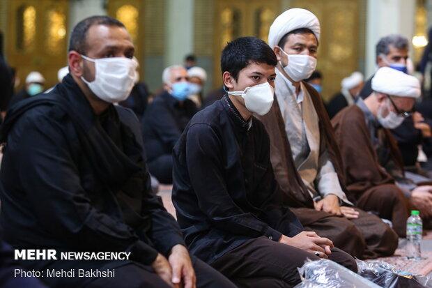 آیین تقدیر از هیئات مذهبی در دهه اول محرم
