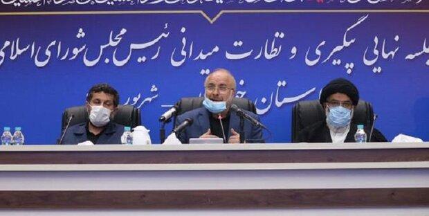 رغم الظروف الصعبة، خوزستان محل اهتمام ايران